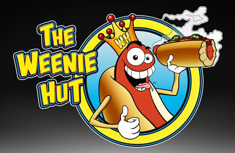 The Weenie Hut Logo Design